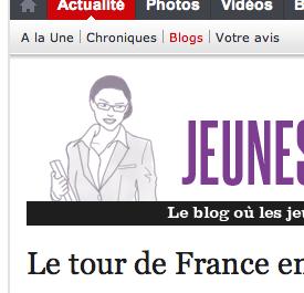 Sur le blog Jeunes Politiques de l'Express