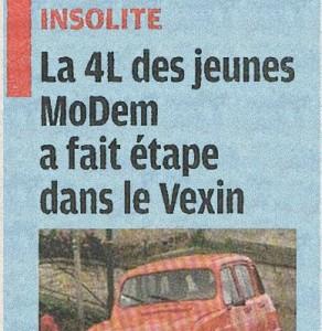 Le Parisien parle de l'Eté nomade!